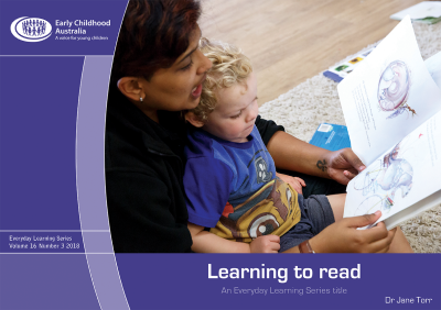 Learning to read - Early Childhood Australia
